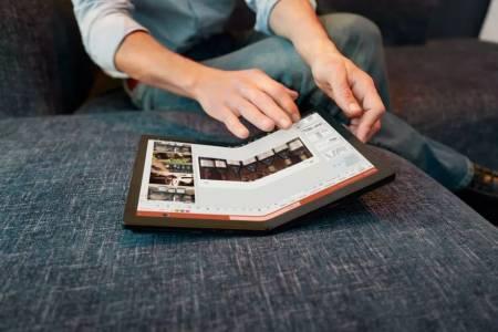 Първият гъвкав лаптоп в света вече е достъпен за поръчка от Lenovo (ВИДЕО)