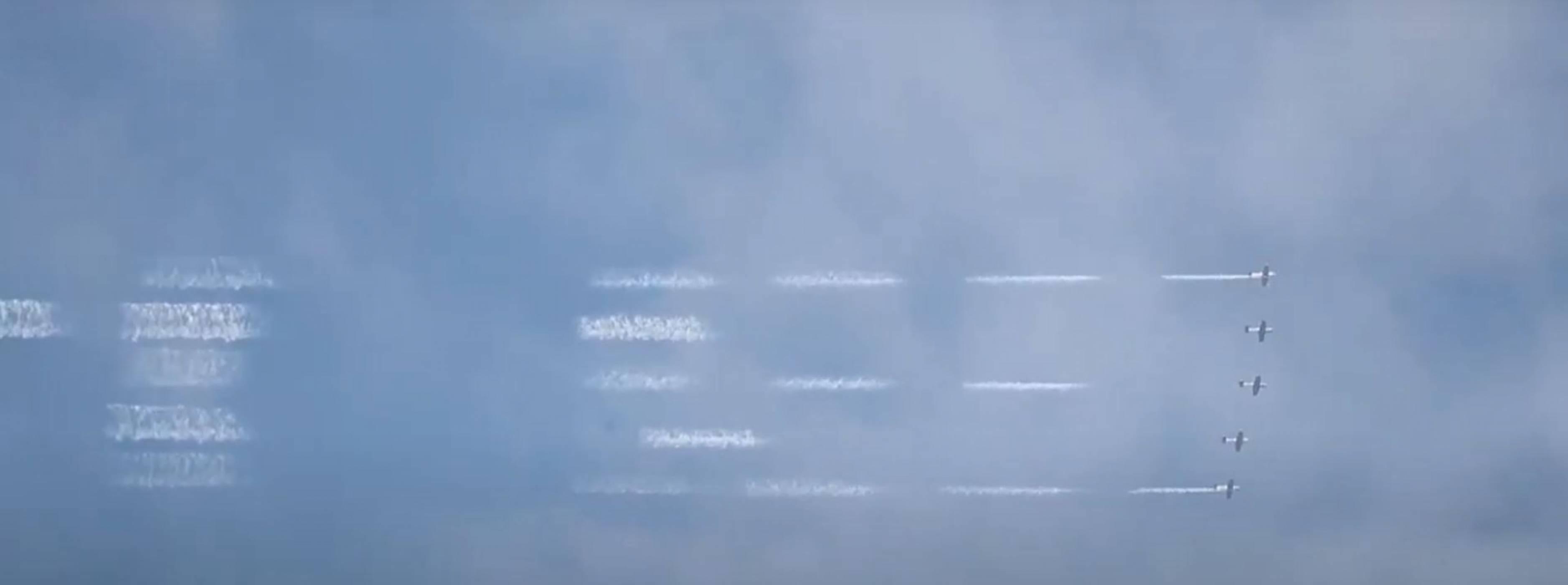 Въздушни думи – как се оставя послание, написано в небето?