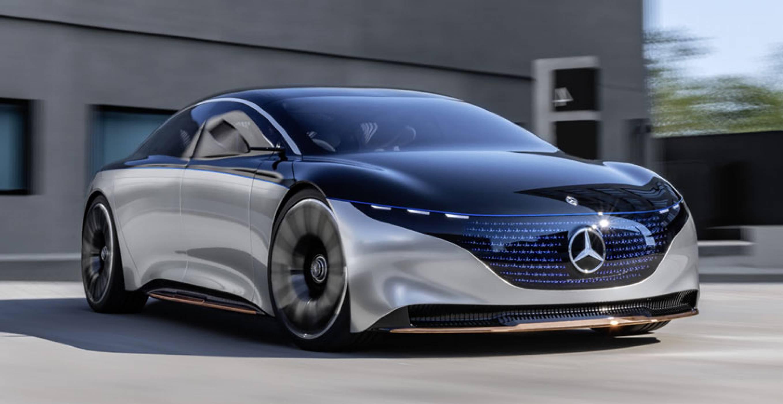Mercedes-Benz  представи новата си супер ефикасна електрическа кола Vision EQXX