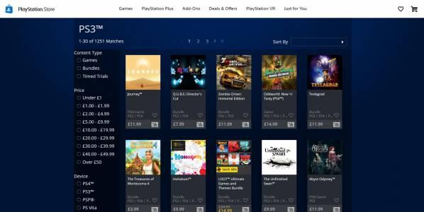 PlayStation вече не продава PS3, PSP и Vita игри онлайн