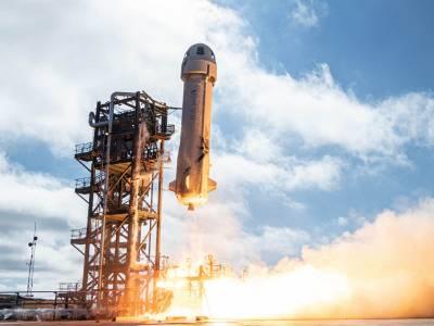 Причудливата ракета New Shepard на Blue Origin събра погледите при теста си