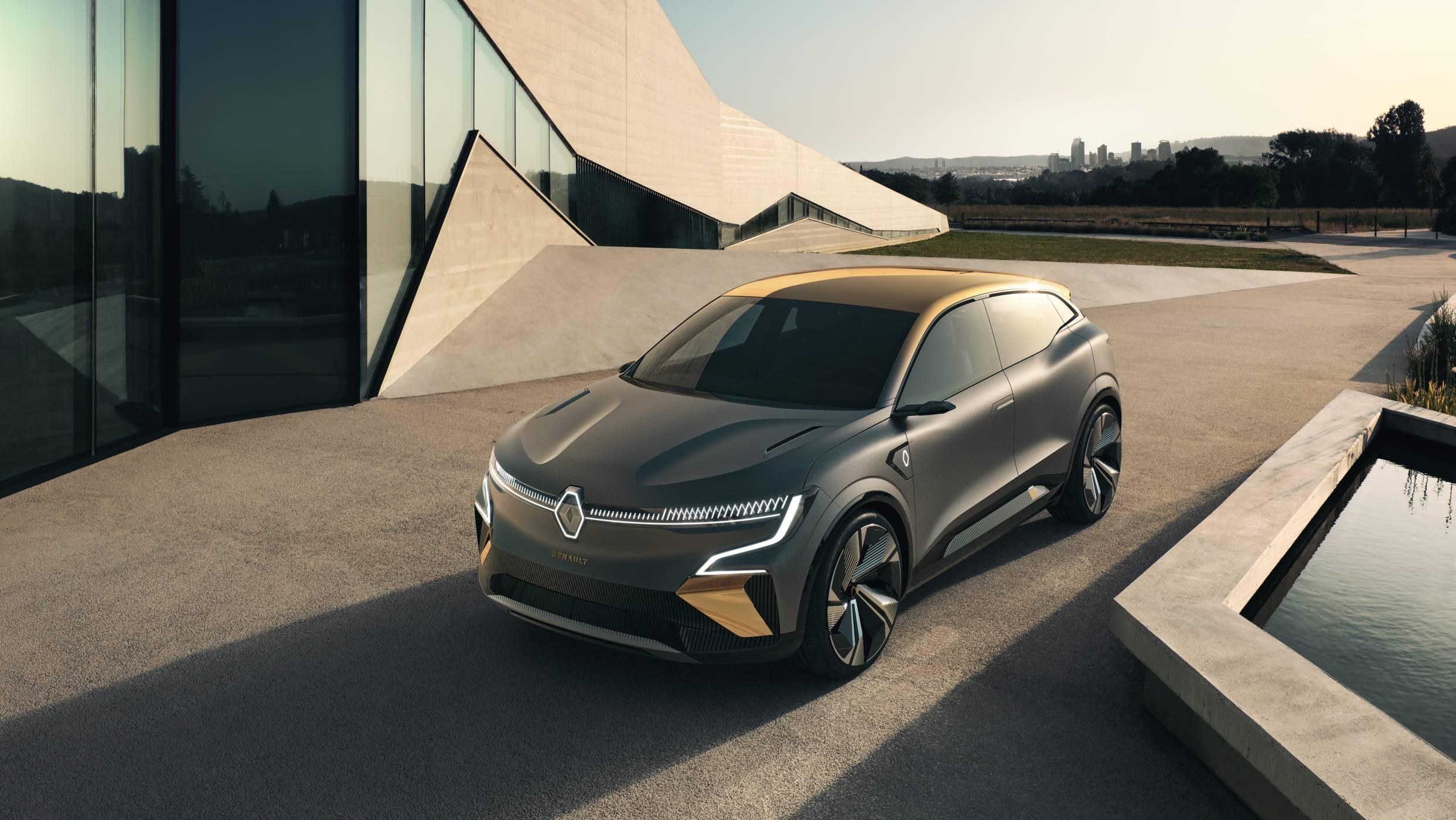 Renault Megane eVision: бъдещето на електрическия автомобил