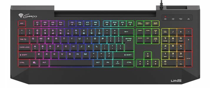 Genesis Lith 400 RGB – не всички качествени геймърски клавиатури са механични (РЕВЮ)