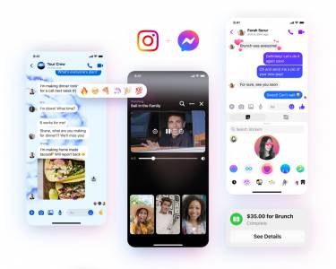 Facebook Messenger с ново лого – плавни стъпки към обединението с Instagram