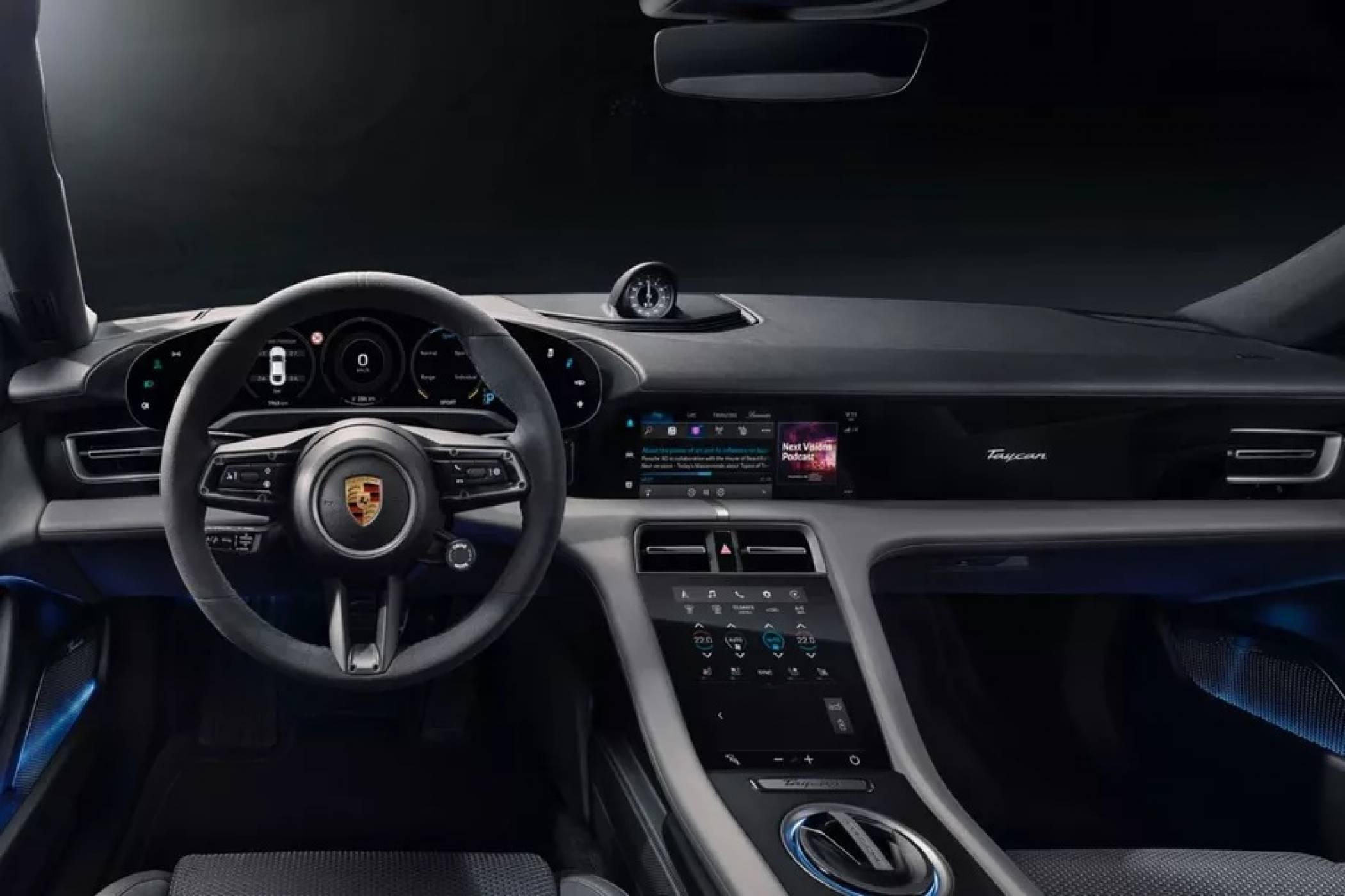 Porsche Taycan е първата кола в света със собствена версия на популярно приложение на Apple