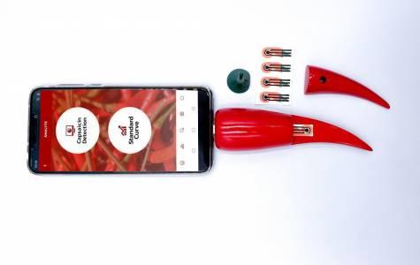 Създадоха сензор за люти чушлета, който се включва към смартфона