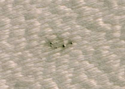 Изкуствен интелект анализира кратерите на Марс