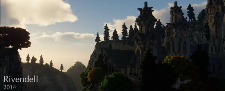 Разходете се из Средната земя на Толкин… в Minecraft (ВИДЕО)