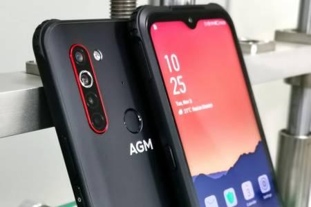 AGM X5 може да стане първият в света 5G смартфон за непохватни потребители