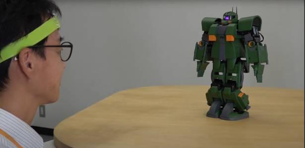 Японски учени създадоха технология, чрез която можете да контролирате с ума си малък Gundam робот (ВИДЕО)