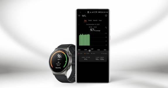 Huawei Watch GT 2 Pro вече позволява постоянно следене на наситеността на кръвта с кислород