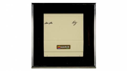 Уникален капак на Apple II, подписан от Стив Джобс и Стив Возняк, излиза на търг