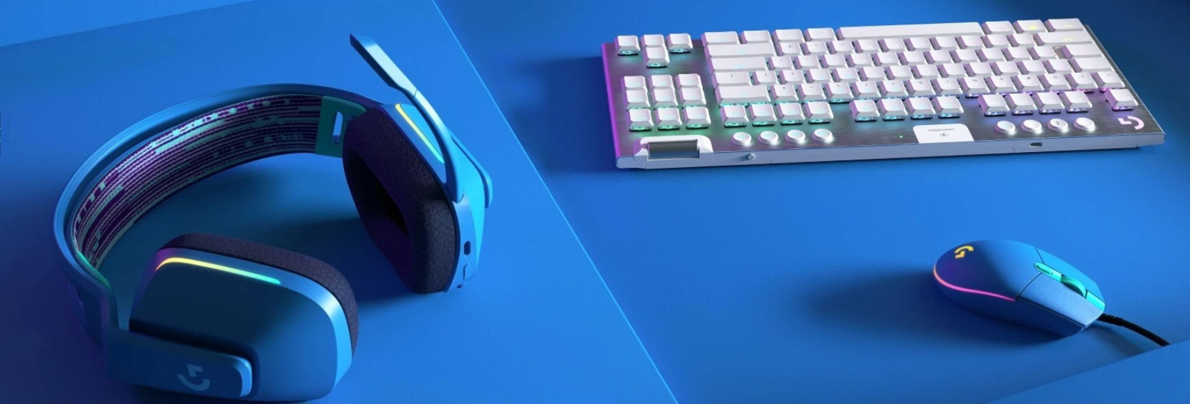 Logitech G-Series Color Collection – елитна геймърска периферия в свежи, ярки цветове (РЕВЮ)