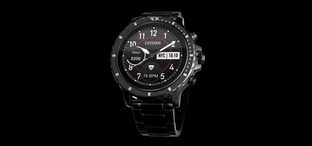 Първият смарт часовник на Citizen, базиран на Wear OS, се нарича CZ Smart