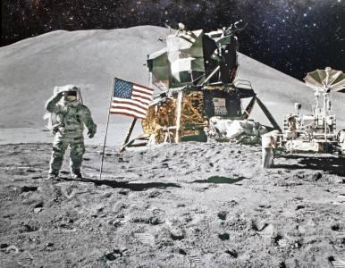 Гробище на Луната ще приема тленни останки на богати покойници