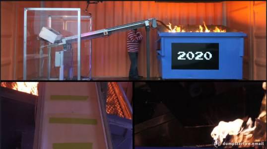 Изгорете виртуално спомените от 2020, които нe ви харесват (ВИДЕО)