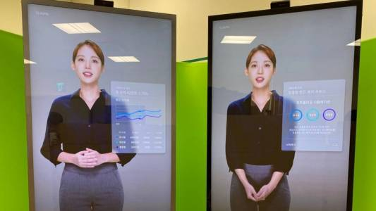 Изкуственият интелект NEON може да си общува с вас скоро от телефоните на Samsung