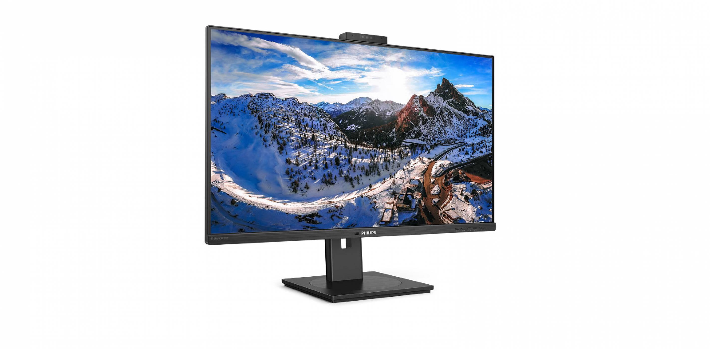 MMD представя два нови монитора Philips с USB-C докинг и Windows Hello