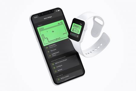 Играйте Snake на iPhone и iWatch