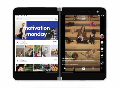 Microsoft Surface Duo и двата му екрана идват в Европа в началото на 2021 г.  (ВИДЕО)