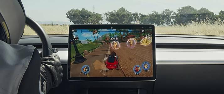 Това са трите нови игри, които ще ви забавляват, докато се возите във вашата Tesla