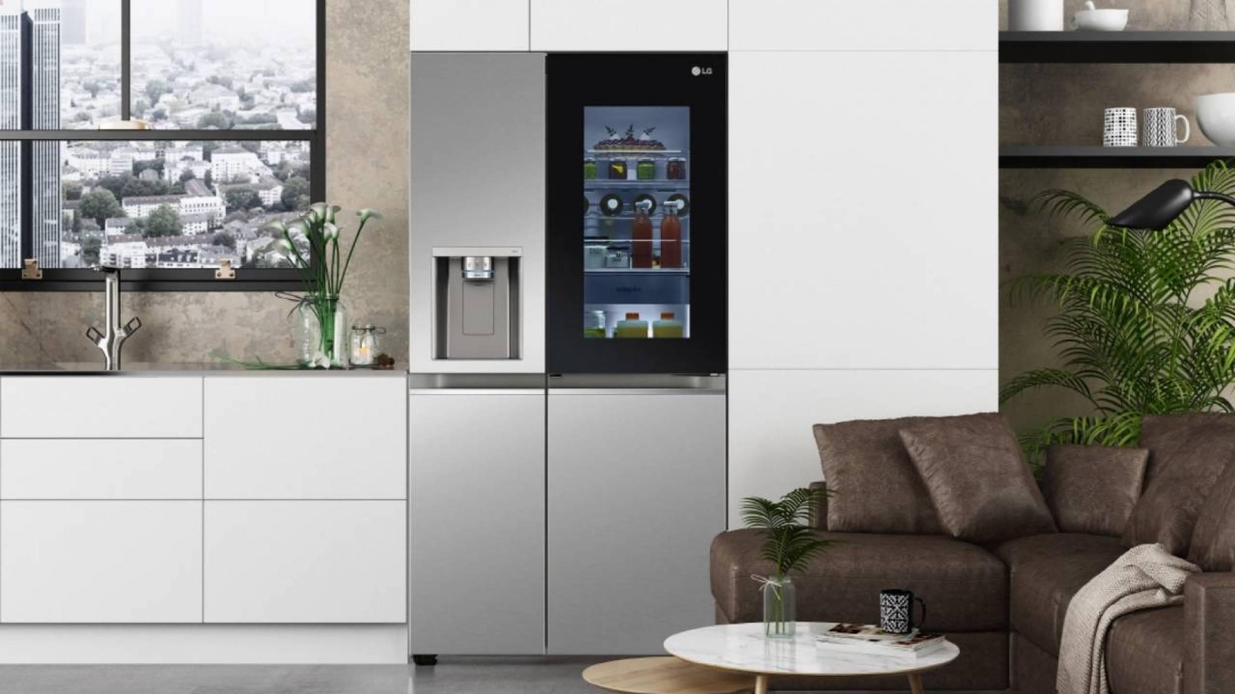 LG представи уникален хладилник, който се управлява с гласови команди