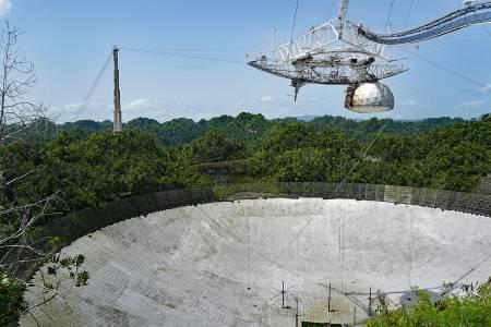Един от най-големите телескопи в света ще бъде унищожен