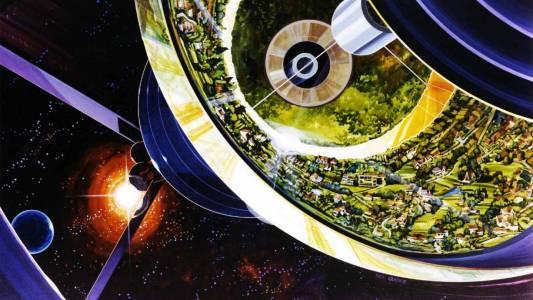 Това е визията на NASA за живот в Космоса през 70-те