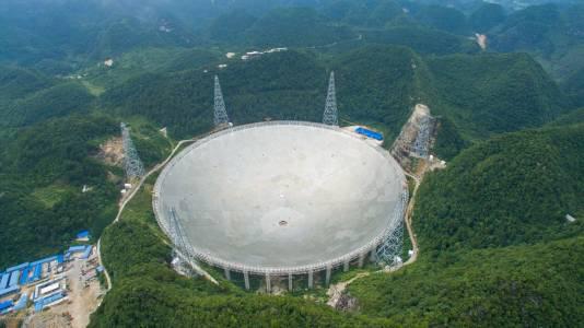 Китай ще сподели най-добрия си телескоп със света
