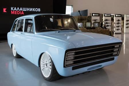 Kalashnikov CV-1 – не оръжие, а мираж за електрически автомобил