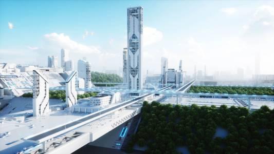 Саудитска Арабия ще прави умен град под AI наблюдение и без коли