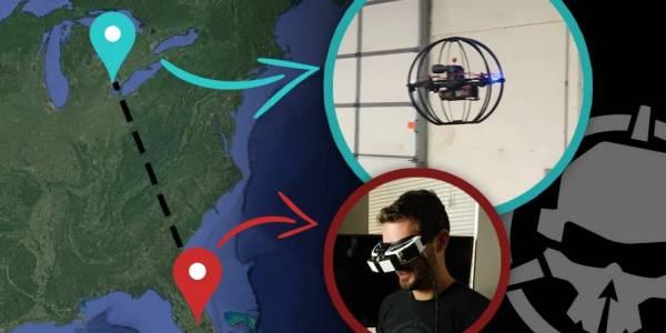 За пръв път: пилот управлява дрон от 2000 км разстояние