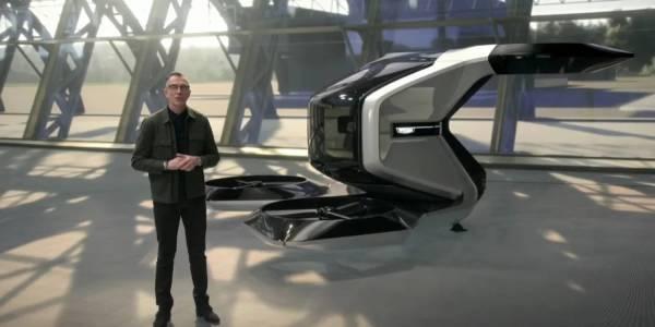 Летящият дрон на Cadillac е най-внушителният начин да отидете на делова среща