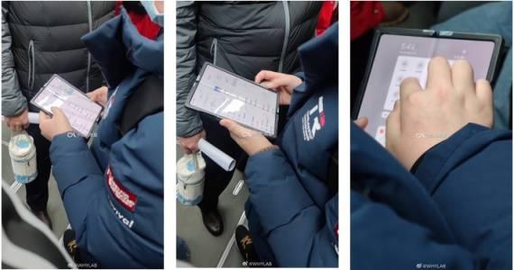 Първият гъвкав смартфон на Xiaomi вече пътува в метрото