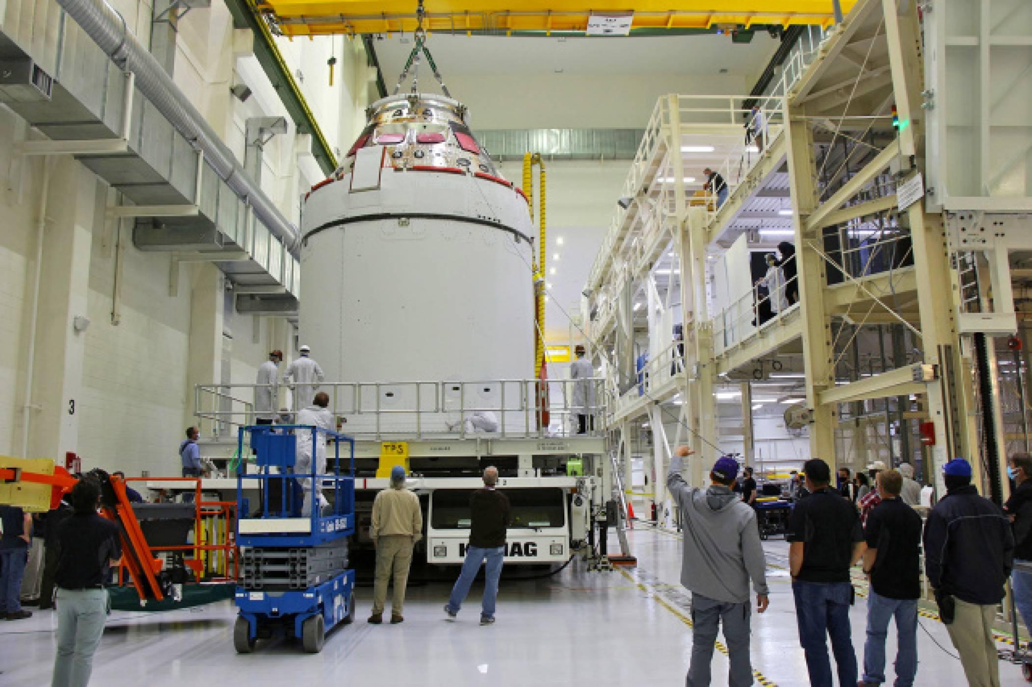 Космическият кораб Orion е готов да лети до Луната