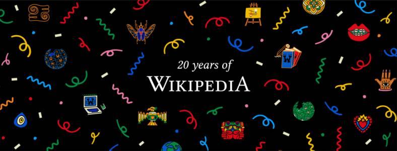 20 години Wikipedia