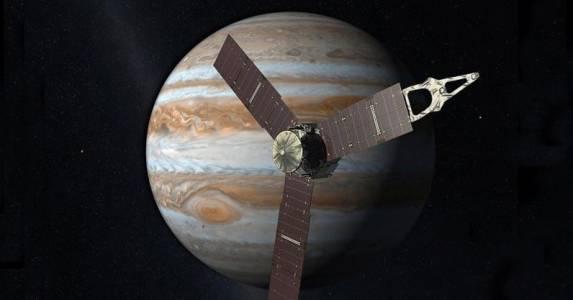 NASA удължи живота на космическата сонда Juno заради мистериозни радиовълни