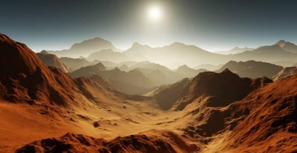 Три държави трябва да достигнат Марс през следващите две седмици
