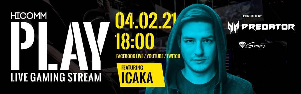 HiComm Play Ep. 5 с участието на Христо Стефанов - Ицака (ВИДЕО)