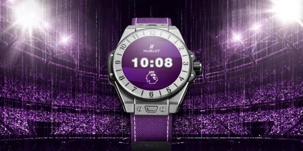 Умният часовник Hublot Big Band e Premier League е олицетворение на глезотията на ръката ви