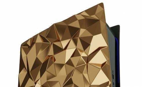 PlayStation 5 с 4.5 кг златно покритие ще ви струва само половин милион долара