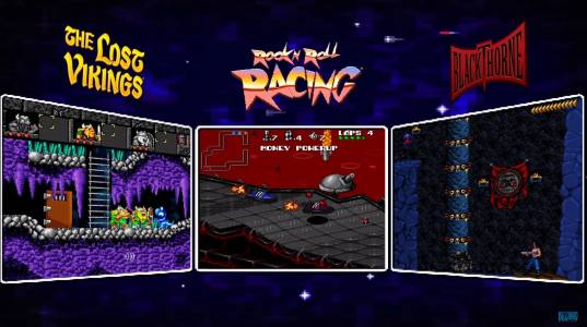 The Blizzard Arcade Collection ни носи The Lost Vikings, Rock N' Roll Racing и Blackthorne в един ретро пакет