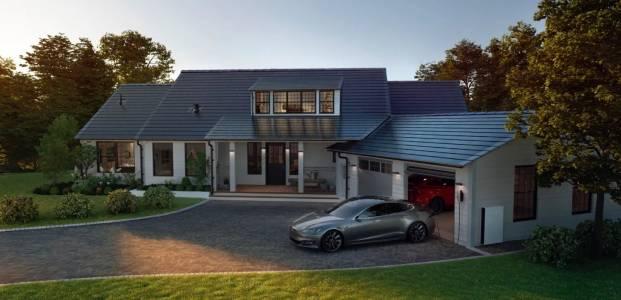 Соларните покриви на Tesla идват в Европа до края на годината