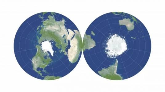 Учени изработиха най-точната плоска карта на Земята
