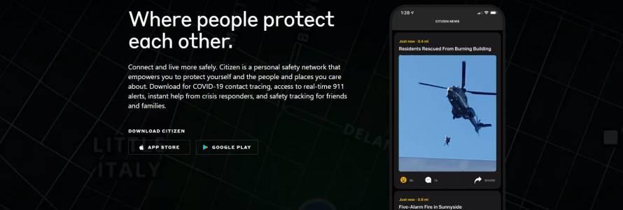 Citizenще поддържа информация захеликоптеритев движение