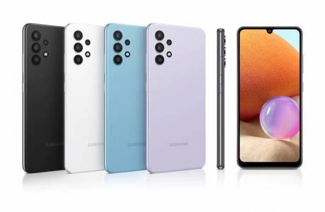 Samsung Galaxy A32 LTE – оптимална комбинация между мощна батерия, висока резолюция на камерите и супер AMOLED дисплей