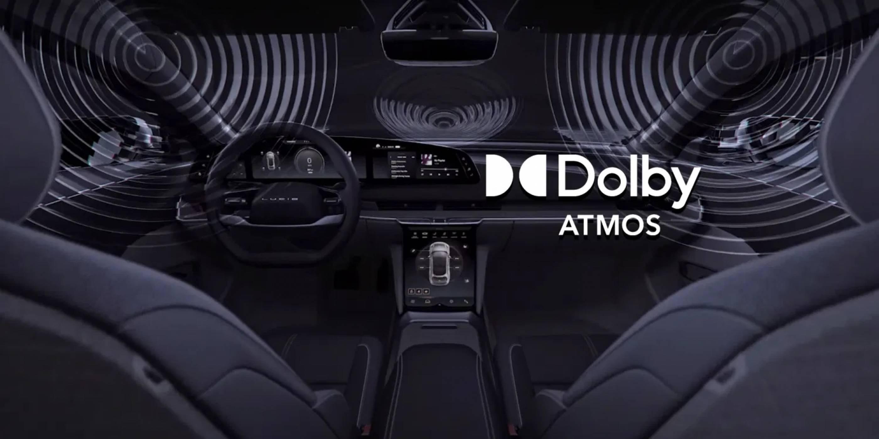 Lucid Air е първата кола в света с Dolby Atmos