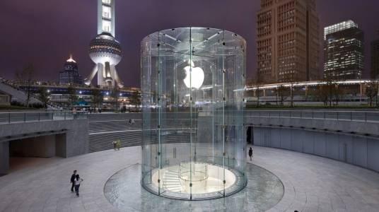 Защо H&M изчезна от Apple Maps в Китай?
