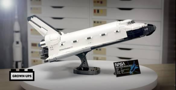 Създайте собствена космическа совалка... с LEGO(ВИДЕО)
