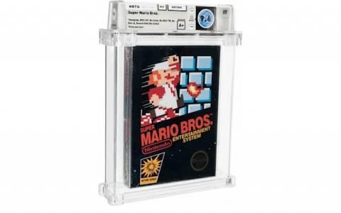 Запечатано копие от Super Mario Bros. се продаде за 660 000 долара